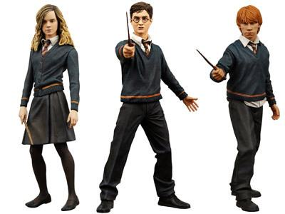 Hermione, Harry e Ronnie