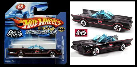 Hot Wheels Batmobile 1966