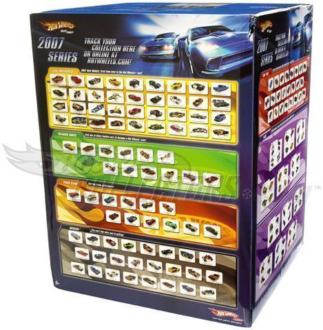 Hot Wheels Factory Sealed Set Uma Enorme Caixa Todos