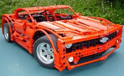 Camaro Motor on Impressionante O Camaro Que O Crowkillers     Lego Artist