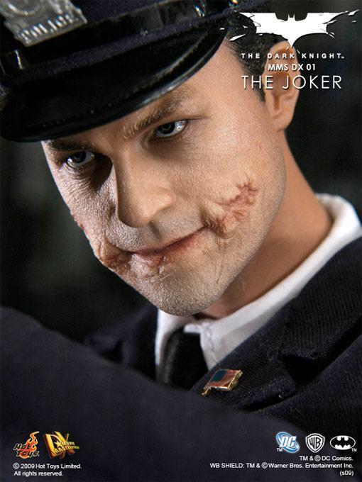 Detalhes Oficiais De Sua Nova Action Figure De Heath Ledger  O