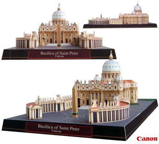basilica-st-peter-papel-02