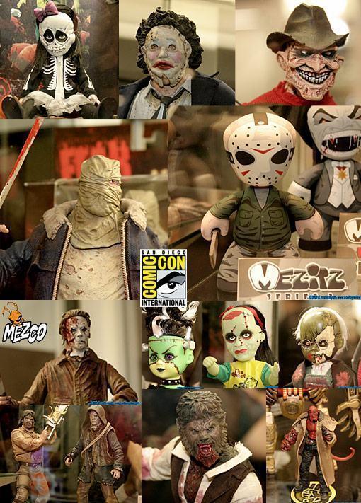 SDCC-09-Mezco-Horror