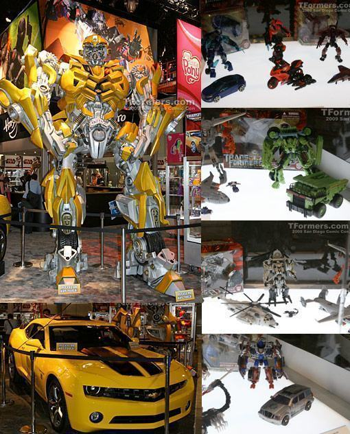SDCC-09-Transformers-Bumblebee-Hasbro-Stand