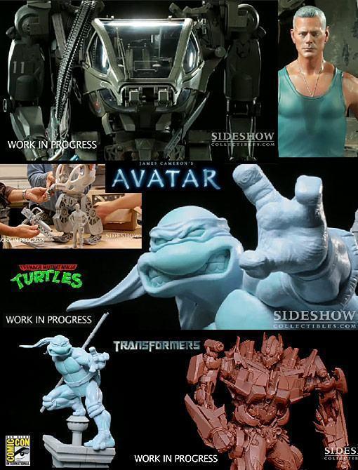 Sideshow-Avatar-TMNT-Transformers