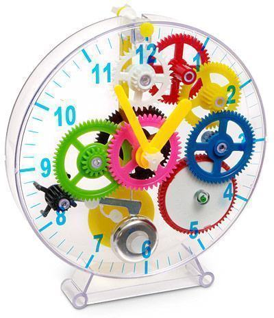 First-Time-Gear-Clock
