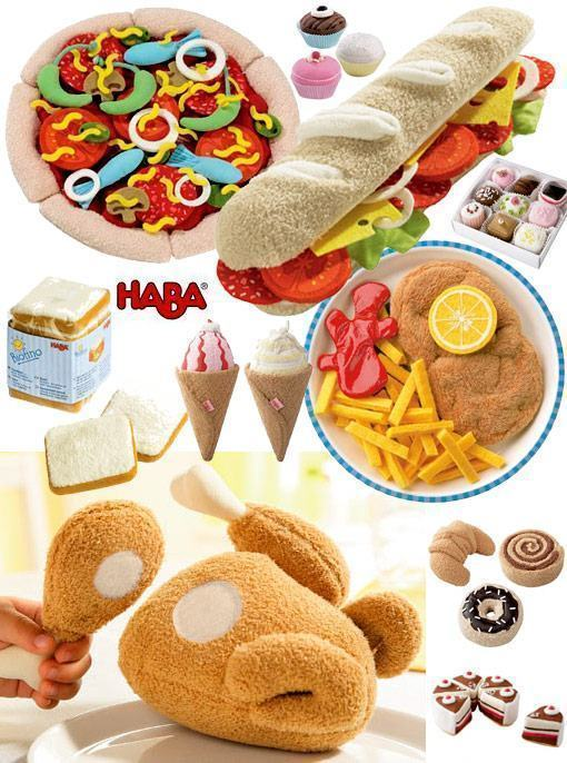 Haba-Plush-Food