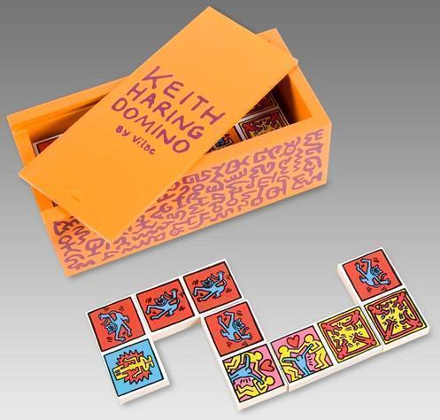 Keith-Haring-Domino