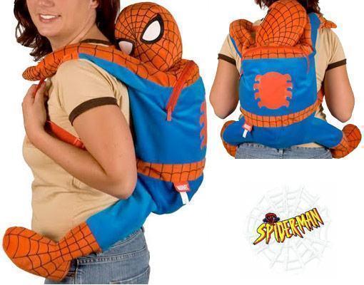 Mochila-Homem-Aranha