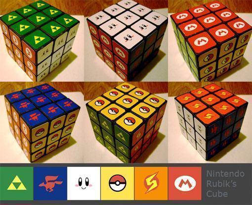 Nintendo-Rubik-Cube