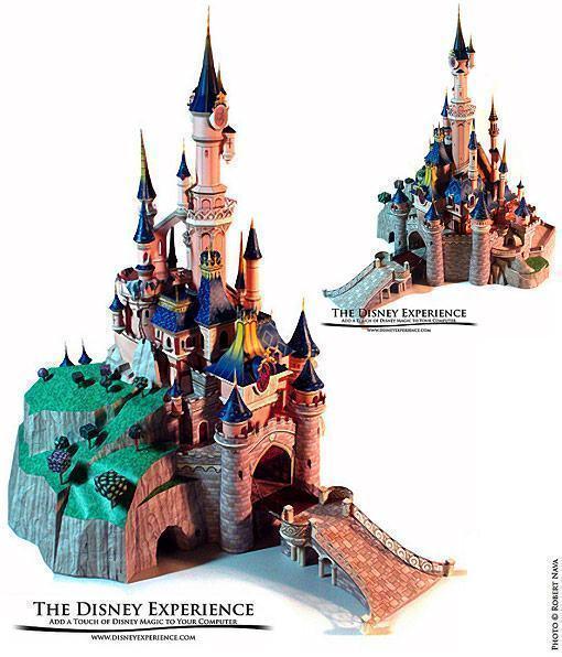 Sleeping-Beauty-Castle-Papercraft-01