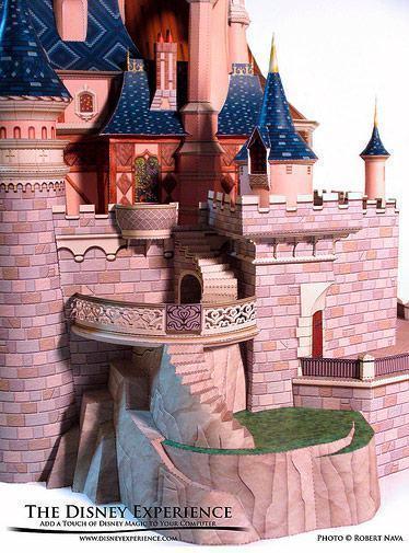Sleeping-Beauty-Castle-Papercraft-04
