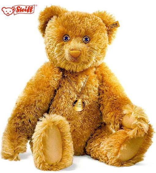 Steiff-125-Carat-Teddy-Bear