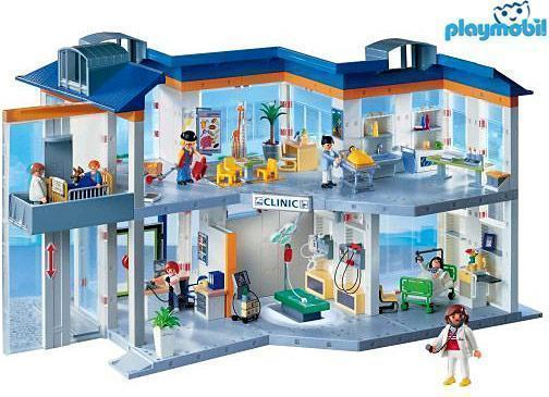 Hospital-Playmobil