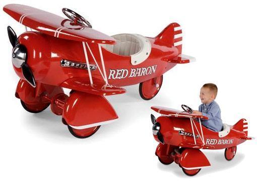 Red-Baron-Pedal-Biplane