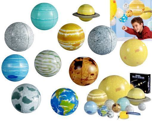 Inflatable-Solar-System-Set