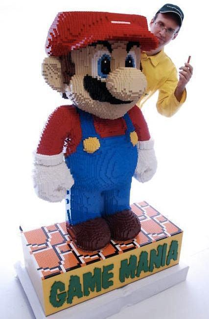 Lego-Mario