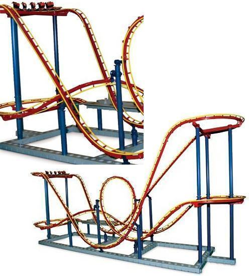 Authentic-1-48-Scale-Roller-Coaster
