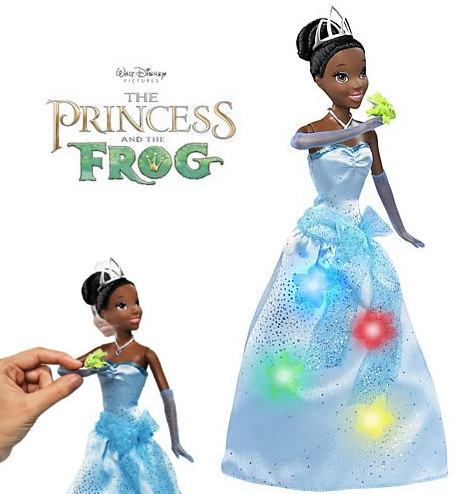 Princess-Tiana-Doll-Beijo