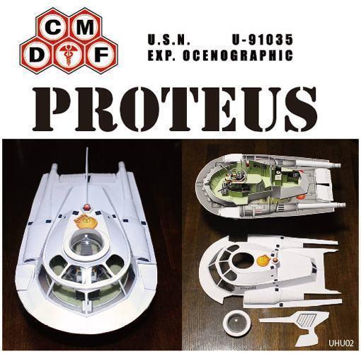 Proteus-Papercraft