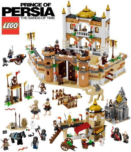 Sets Lego do Filme Prince of