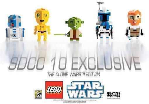 348edd917 A LEGO anunciou com exclusividade para a San Diego Comic Con 2010 uma  coleção de sets LEGO Star Wars ...