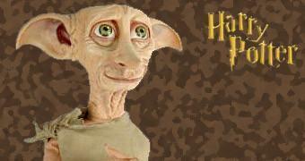 Boneco de Pano de Dobby, o Elfo Doméstico de Harry Potter