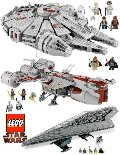 Blog de Brinquedo » Blog Archive » Naves LEGO Star Wars, 3 Mega ...