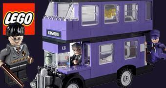 LEGO Harry Potter do Ônibus Roxo Nôitibus Andante