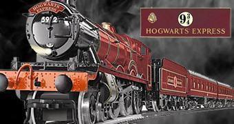 Hogwarts Express Trem Elétrico em Escala O-Gauge