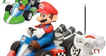 Mario Kart e Yoshi com Controle Remoto