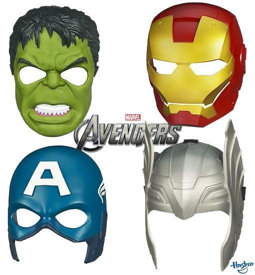 Mascaras Filme The Avengers Vingadores