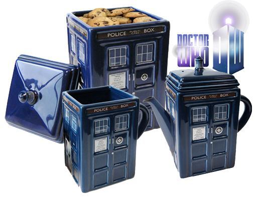 Potes De Cookies Doctor Who Tardis Cookie Jars 171 Blog De