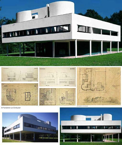 terraco jardim le corbusier: : Villa Savoye do Arquiteto Le Corbusier « Blog de Brinquedo