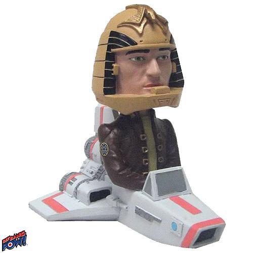 Battlestar Galactica Bobble Head COMANDANTE Adama