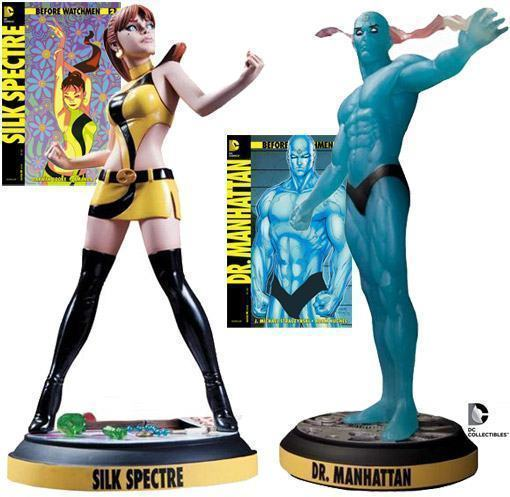 Before-Watchmen-Estatuas-Silk-Spectre-Dr-Manhattan-01