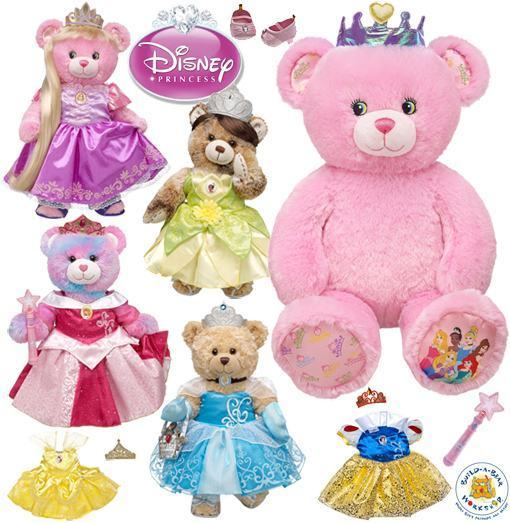 Build-A-Bear-Princesas-Disney