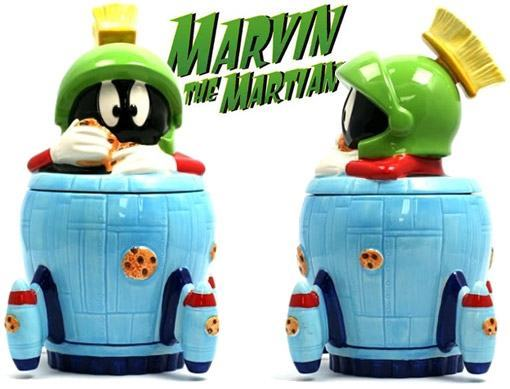 Marvin-the-Martian-Spaceship-Cookie-Jar-Pote