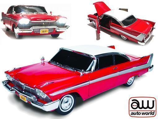 Replicas-1958-Plymouth-Fury-Christine-Stephen-King-Die-Cast-02