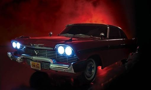 Replicas-1958-Plymouth-Fury-Christine-Stephen-King-Die-Cast-05