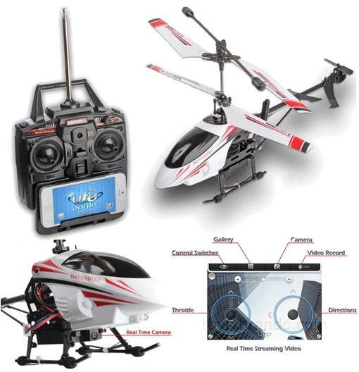 Real-Time-Streaming-Video-Metallic-Spy-Helicopter