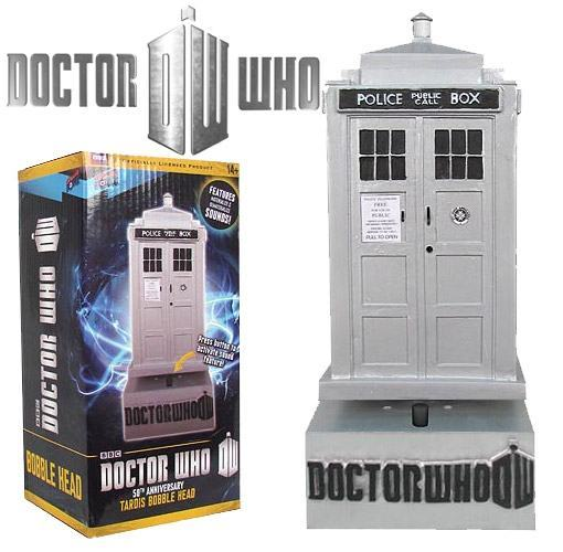 TARDIS-Bobble-Head-Prateado-50-Anos-Doctor-Who