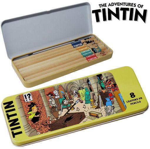 Tintin-8-Piece-Pencil-Set-02