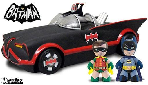 Batman-and-Robin-DC-Mini-Mez-Itz-1966-Batmobile-Vehicle