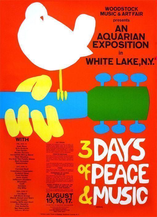 Poster-Woodstock