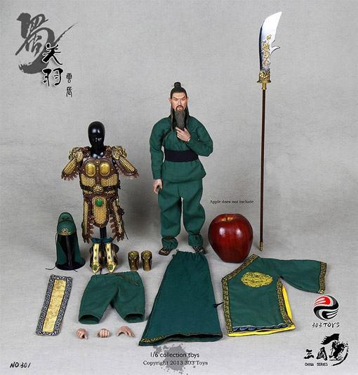 Guan-Yu-Three-Kingdom-Series-Action-Figure-12