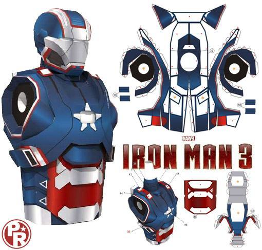 Iron-Patriot-Papel-Iron-Man-3-Paper-Model-01