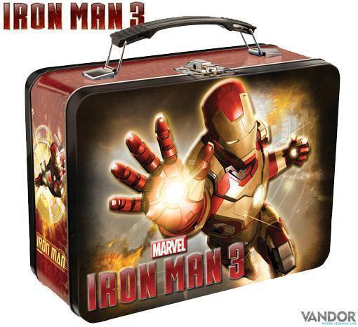 Lancheira-Iron-Man-3-Movie-Large-Tin-Tote-Lunch-Box