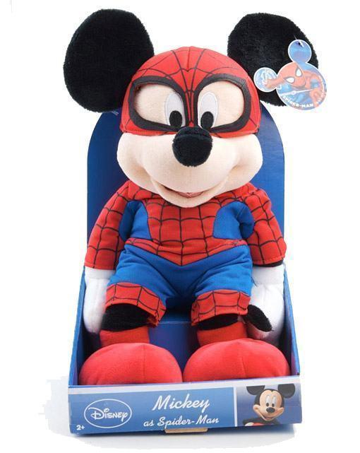 Marvel-Classic-Disney-Theme-Plush-Dolls-Mickey-Spider-Man-02
