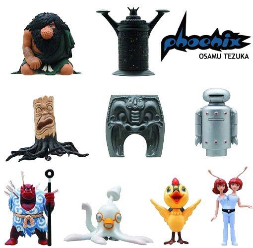 Osamu-Tezuka-Phoenix-Capsule-Toy-Mini-Figures